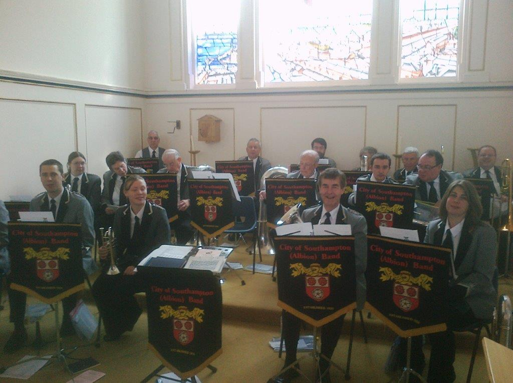Band in St. Ann's Church