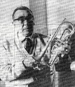 Bill Barnes, as featured in a local newspaper article, 1984