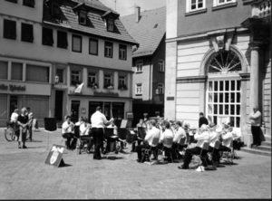Band trip to Rems-Murr-Kreis, Germany, 1993