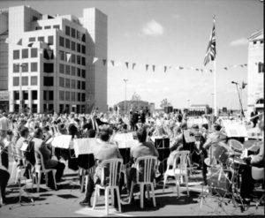 VE Day 50th anniversary civic service